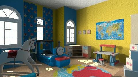 Nursery bedroom - Bedroom - by ivacolakovic