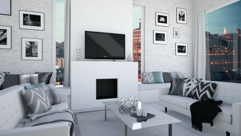 Gallery Wall - Living room - by jadastratman
