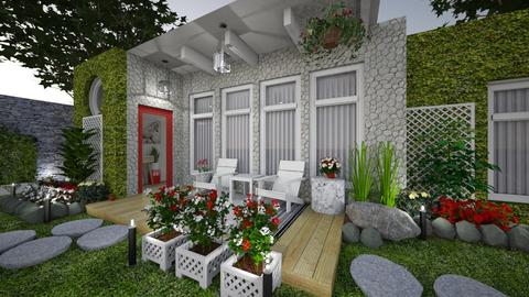 small patio - Garden - by katsumi1016