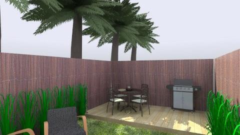 back garden - Garden - by awiley
