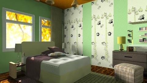 My OPPA Room - Bedroom - by moonissa