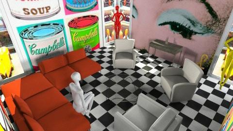 PoP Art - Retro - Living room - by Jacquie Ru
