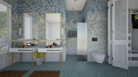 ombre bath - Classic - Bathroom - by sometimes i am here