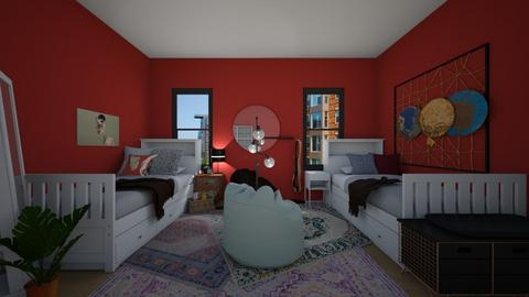 Dorm Room 2 - Bedroom - by loveto6