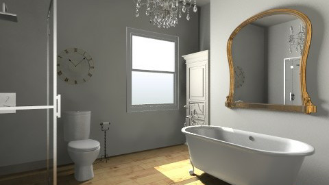 Bathroom - Vintage - Bathroom - by saelj