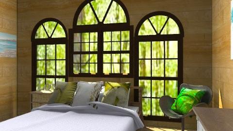 Sleep Rustic  - Rustic - Bedroom - by BambooPenguin