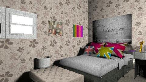 El cuarto de mis dreams - Feminine - Bedroom - by Andreaa Catica