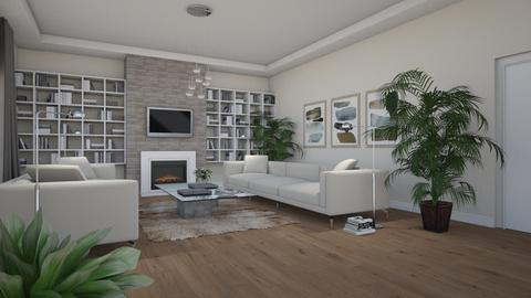 Artisan Flooring I - Eclectic - Living room - by Theadora