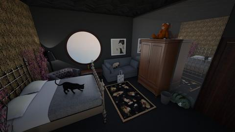 Goth Design - Bedroom - by ReesesPieces203