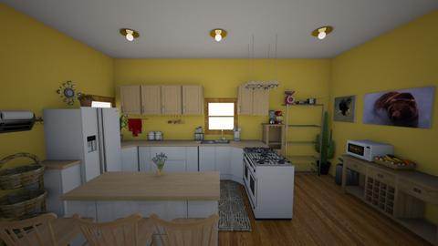 lovely kitchen - by Toshana Sue