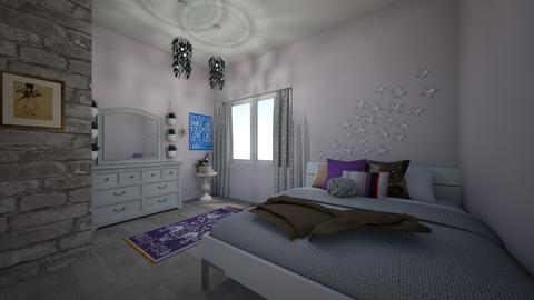 Teen girl bedroom - by ellarowe224