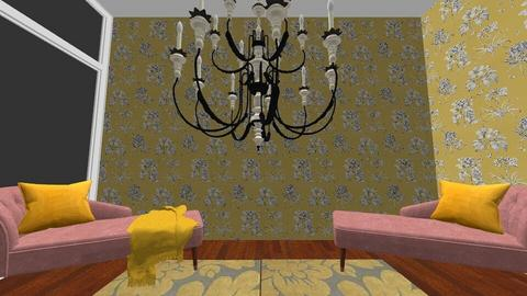 shabby chic - Living room - by Mysterious Man
