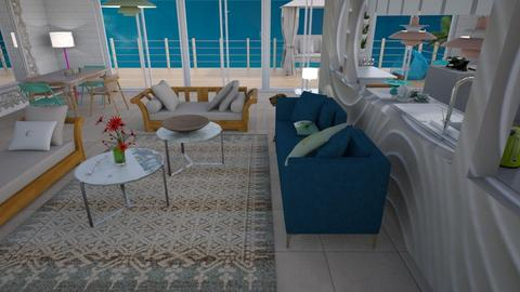 Relaxed beach home 2 - Living room - by Tree Nut