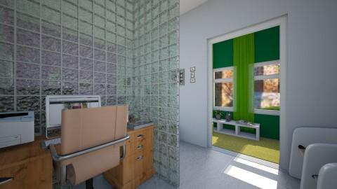 CASA TIPO APARTA - Retro - Office - by yonfray rojas