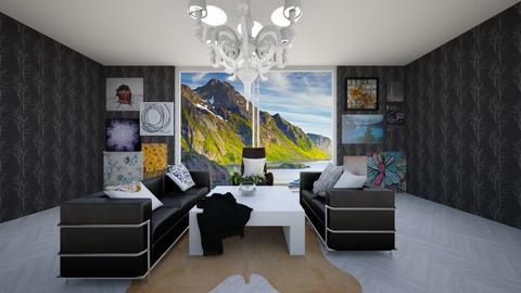 Modern Artsy - Modern - Living room - by R A I N A