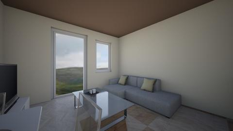 proba - Living room - by kovagodora