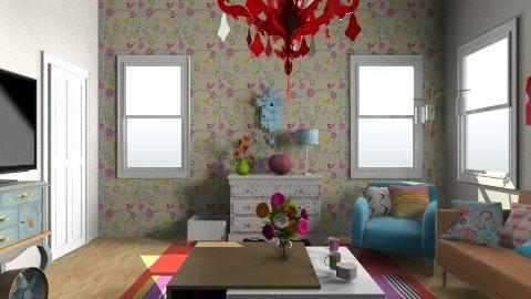 yyh - Living room - by Yoshi Yogataga
