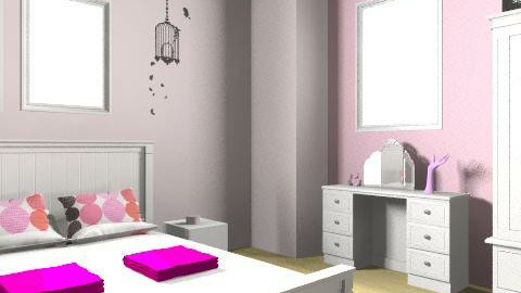 Pink Lady - Country - Bedroom - by ArianeMarie