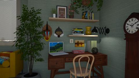 Boho Office - Office - by JM Krab