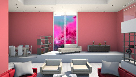 Heh - Country - Living room - by LucijaLjeva