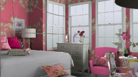 Pink Dream - Feminine - Bedroom - by alenah