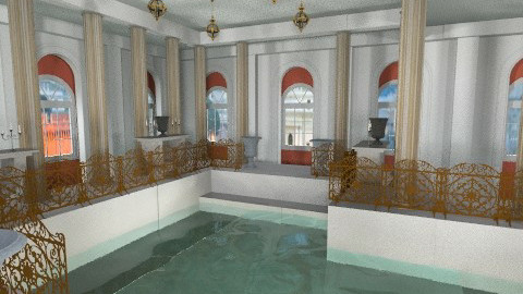 Roman Bath - Glamour - Bathroom - by vovisanija