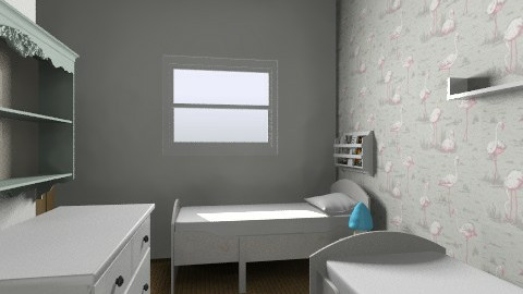 Twins option 3 - Kids room - by gaylefirmin