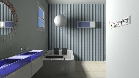 Projeto Paola banheiro - Vintage - Bathroom - by Paola ApMoura