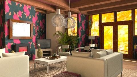 Modern cottage - Country - Living room - by mrschicken
