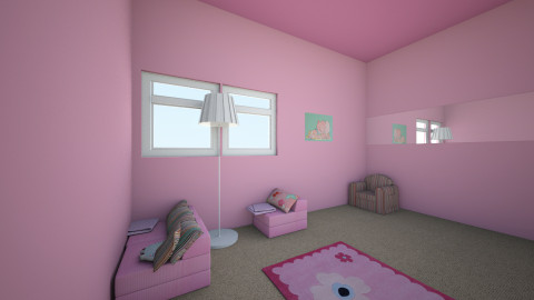 pinky girl room - Classic - Kids room - by Taylor Husband_236