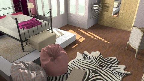 classic and modern room - Modern - Bedroom - by tamyres