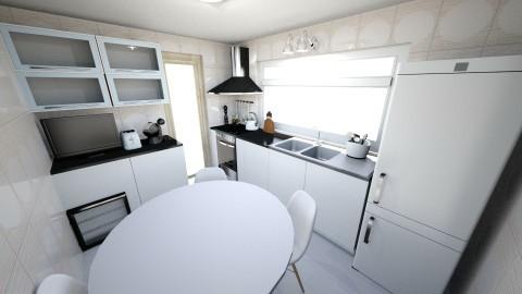 cocina2 - Modern - Kitchen - by Diana Dato