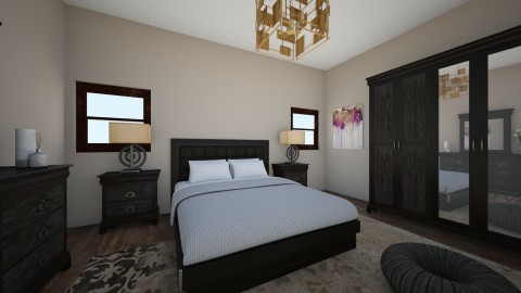 wood - Classic - Bedroom - by Angela Quintieri