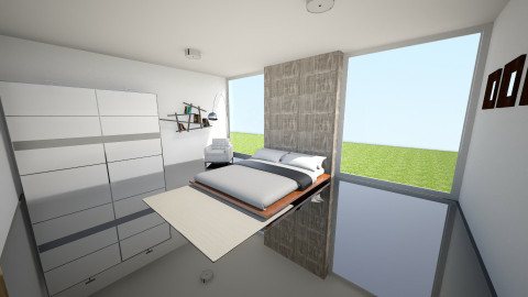 Simple bedroom - Minimal - Bedroom - by Peter Reyneke