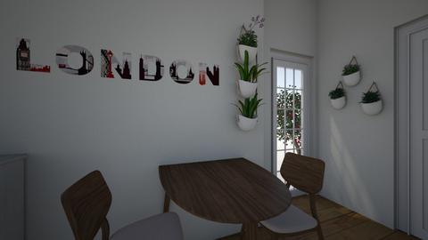 Small living  - Classic - Dining room - by 2003babybluz