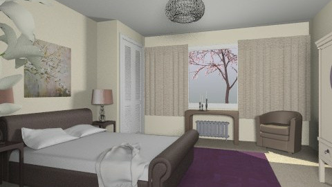 For JMLAT 4 - Eclectic - Bedroom - by Theadora