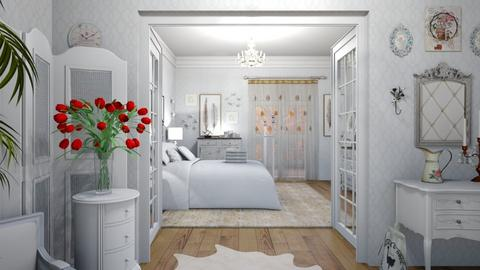 Shabby Chique Bedroom - Bedroom - by matina1976