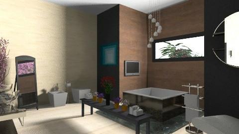 luxury bathroom - Modern - Bathroom - by dungtran