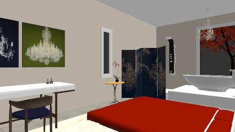 Retreat - Minimal - Bedroom - by Kaarina
