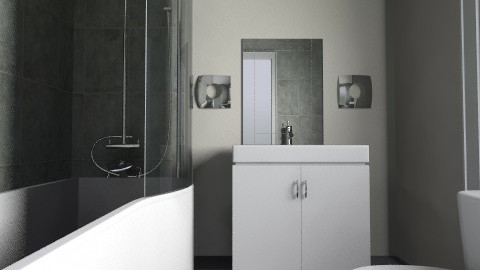 SP bathroom - Modern - Bathroom - by psemra