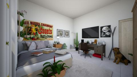Our Bedroom - Minimal - Bedroom - by BrunaGullo