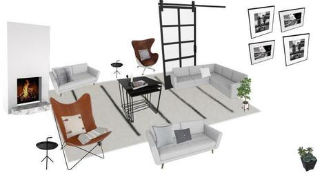 scandi living room - by scandihmj