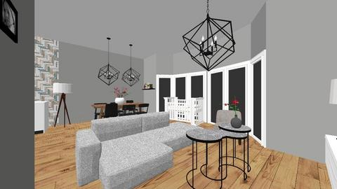 rijtjes huis - Living room - by daphnemickey