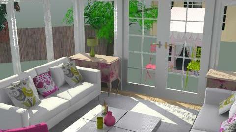 sun room  - Feminine - Conservatory - by glamour princess