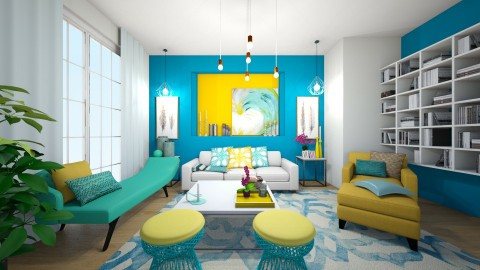 colors1 - Living room - by Love 1989