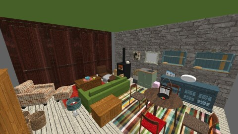 Weekend - Living room - by mogly