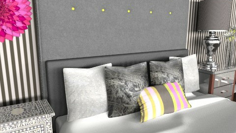 bedside4 - Glamour - Bedroom - by nicked