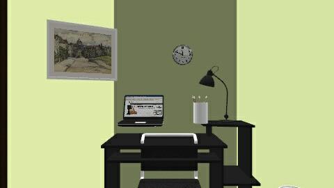 Office - Modern - Office - by perfectpanda37