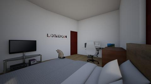 Modern Bedroom  - Modern - Bedroom - by awesomeguy222
