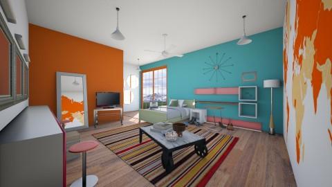 orange crush - Bedroom - by somei